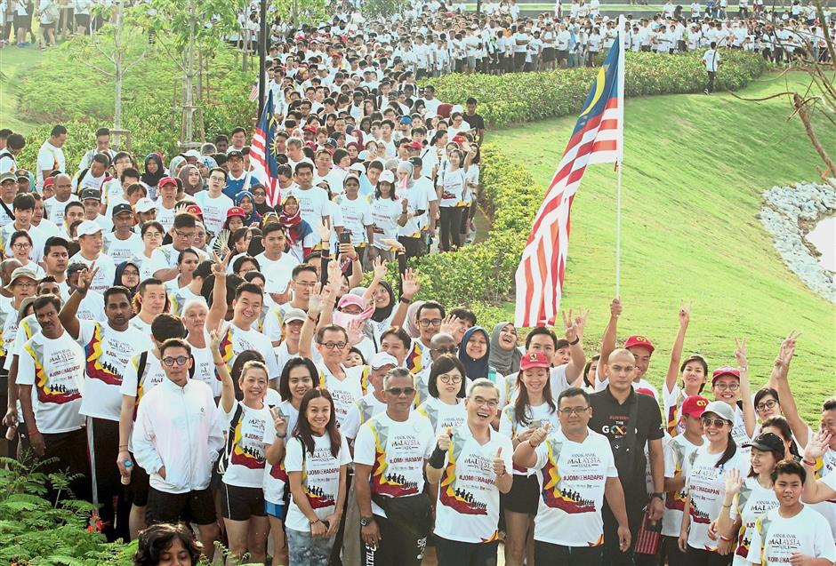 AnakAnakMalaysia walk event at Eco Ardence,Setia Alam.AZHAR MAHFOF/The Star