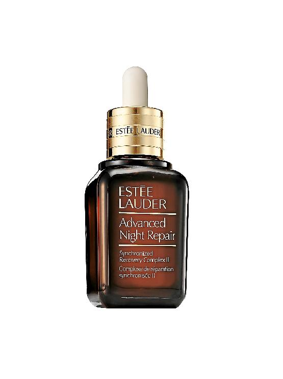 Estee Lauder's newest anti-ageing serum, the Estee Lauder Advance Night Repair Synchronized Recovery Complex II uses a breakthrough purification technology.