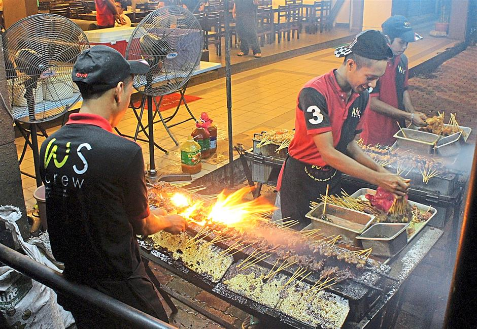 Star People\'s Food Awards Satay Willy.