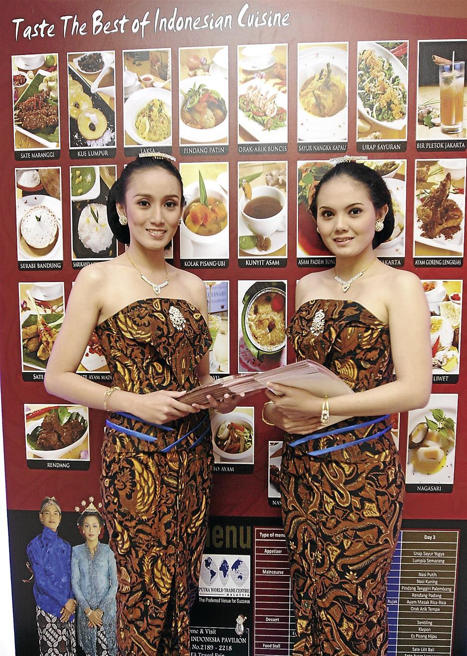 Indonesia Food Promotion - Taste The BEst of Indonesian Cuisine.
