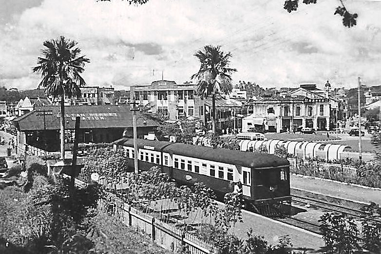 The way it was: An old photo of the Sultan Street Station located at the intersection of Jalan Sultan and Jalan Tun Tan Cheng Lock.