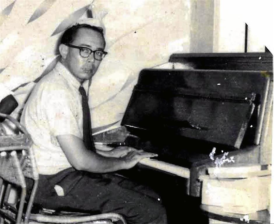 Jazz pianist: The late Jimmy Boyle was of Eurasian descent.