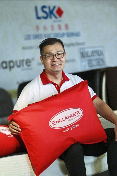 Lee says the premium mattress brand offers unparalleled support and comfort.