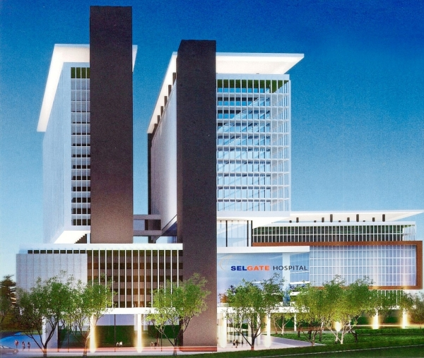 An artist's impression of Selgate Kota Damansara Hospital which will be in Section 3, Selangor Science Park, Petaling Jaya.