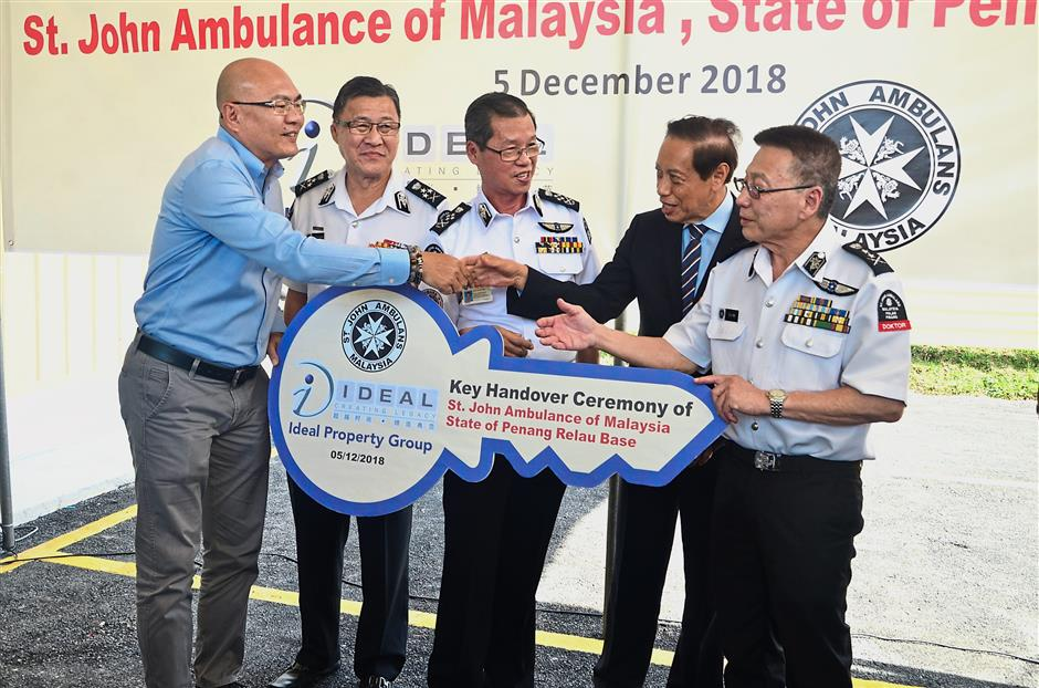 New base to help St John save lives | The Star Online