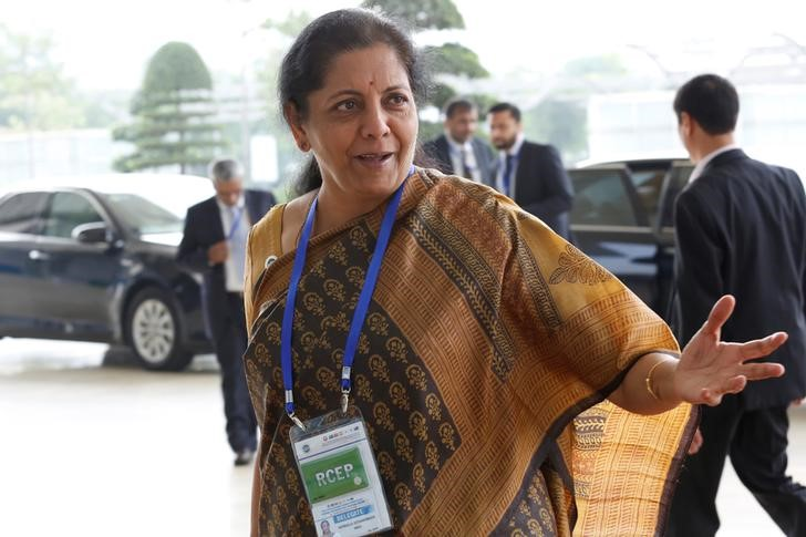 Modi Names Sitharaman As India S Finance Minister The Star Online