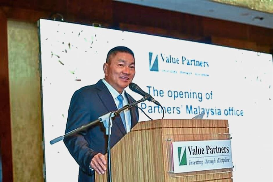 Only way is up: Cheah says Value Partners Group is opening office at a time when things can only get better in Malaysia.