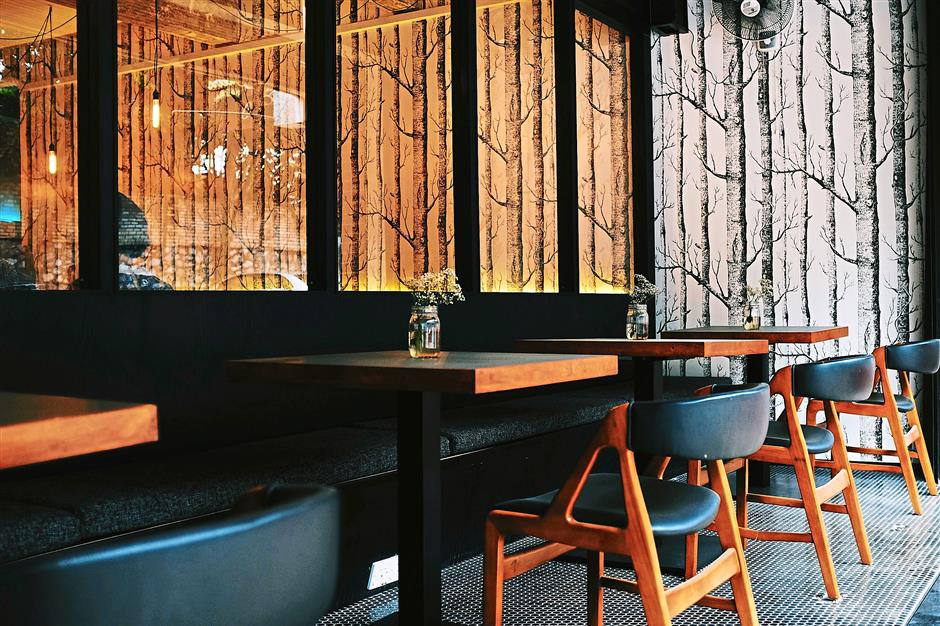 Sitkas natural, minimalist interior echoes the culinary philosophy of its founders.