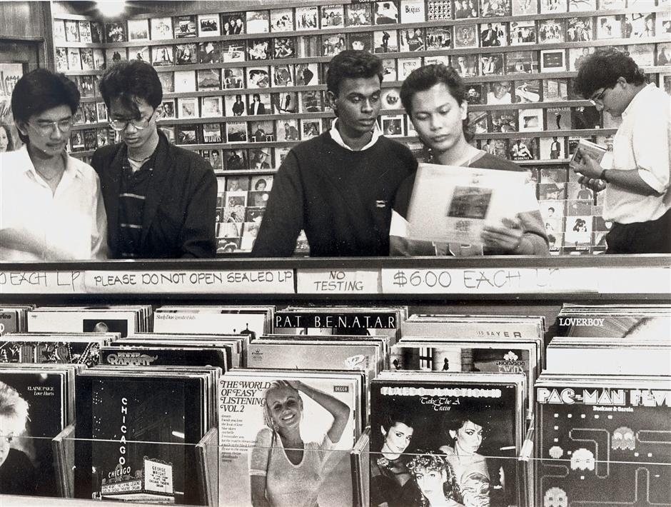 In the early 1990s, music stores in the Klang Valley were packed with people buying CDs, cassettes and LPs. — filepic