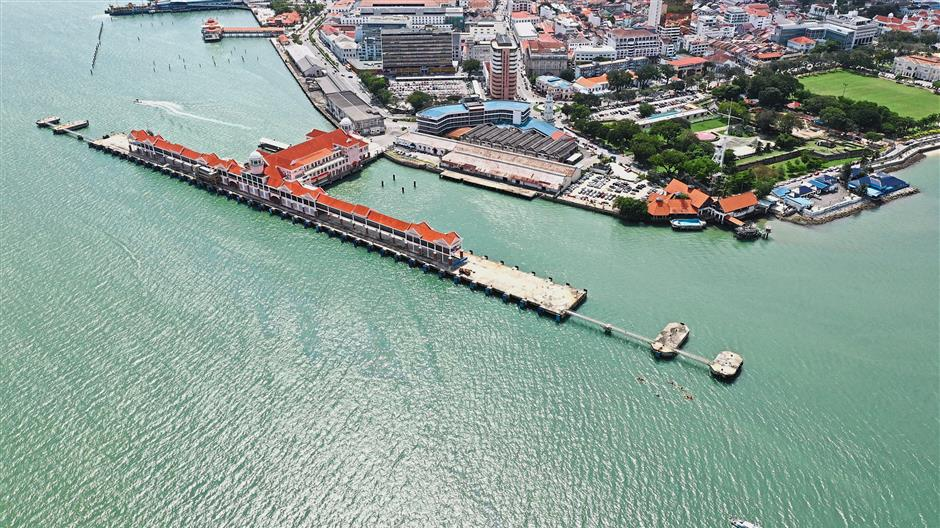 Pier pressure: Swettenham Pier Cruise Terminal at the north-eastern tip of Penang, bereft of cruise ships. u2014 Pic courtesy of Se Vena Networks Sdn Bhd