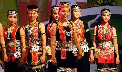 Bidayuh Culture For All To See The Star