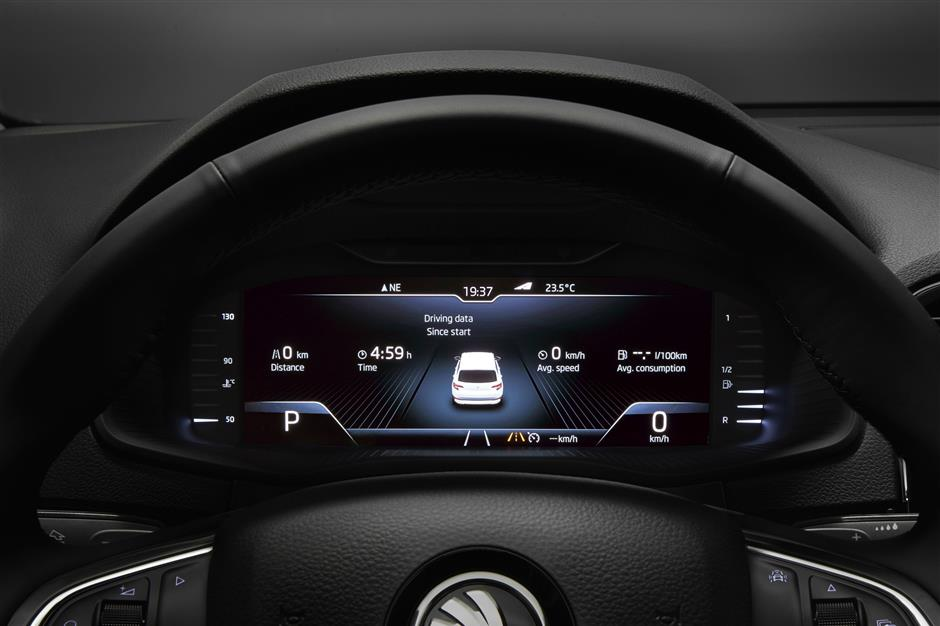 Skoda offers to upgrade dashboards with new virtual cockpit | The