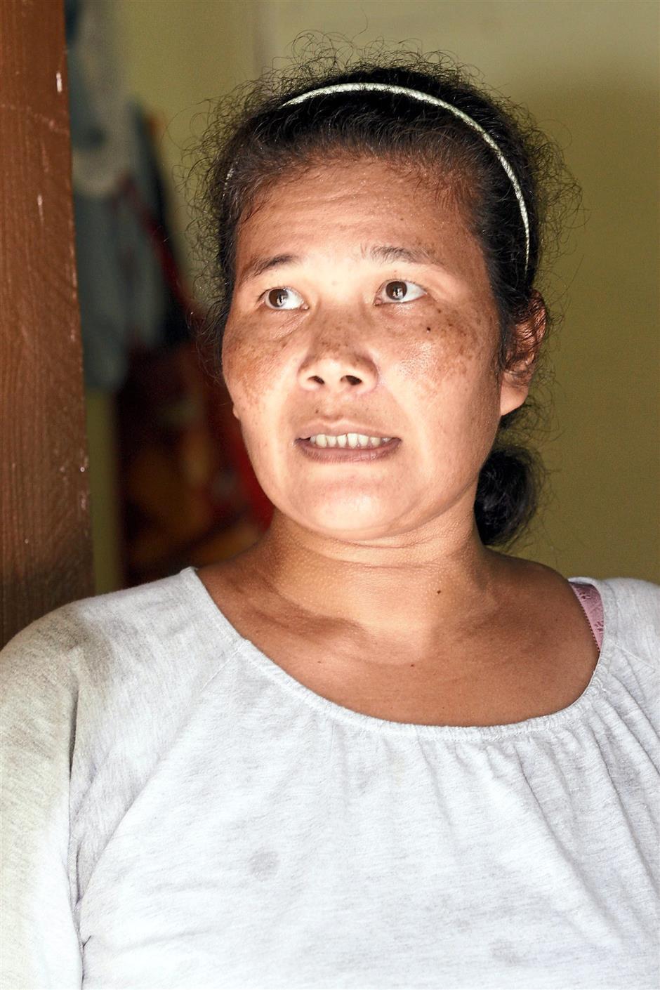 Rokiah Bak Ujang,47 homemaker