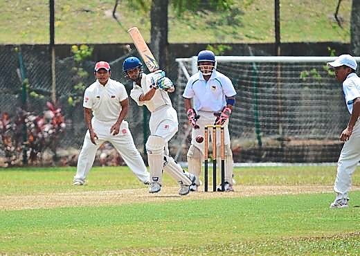 Pride of Kuala Lumpur: Batsman Arjoon had his team finish second in the event.