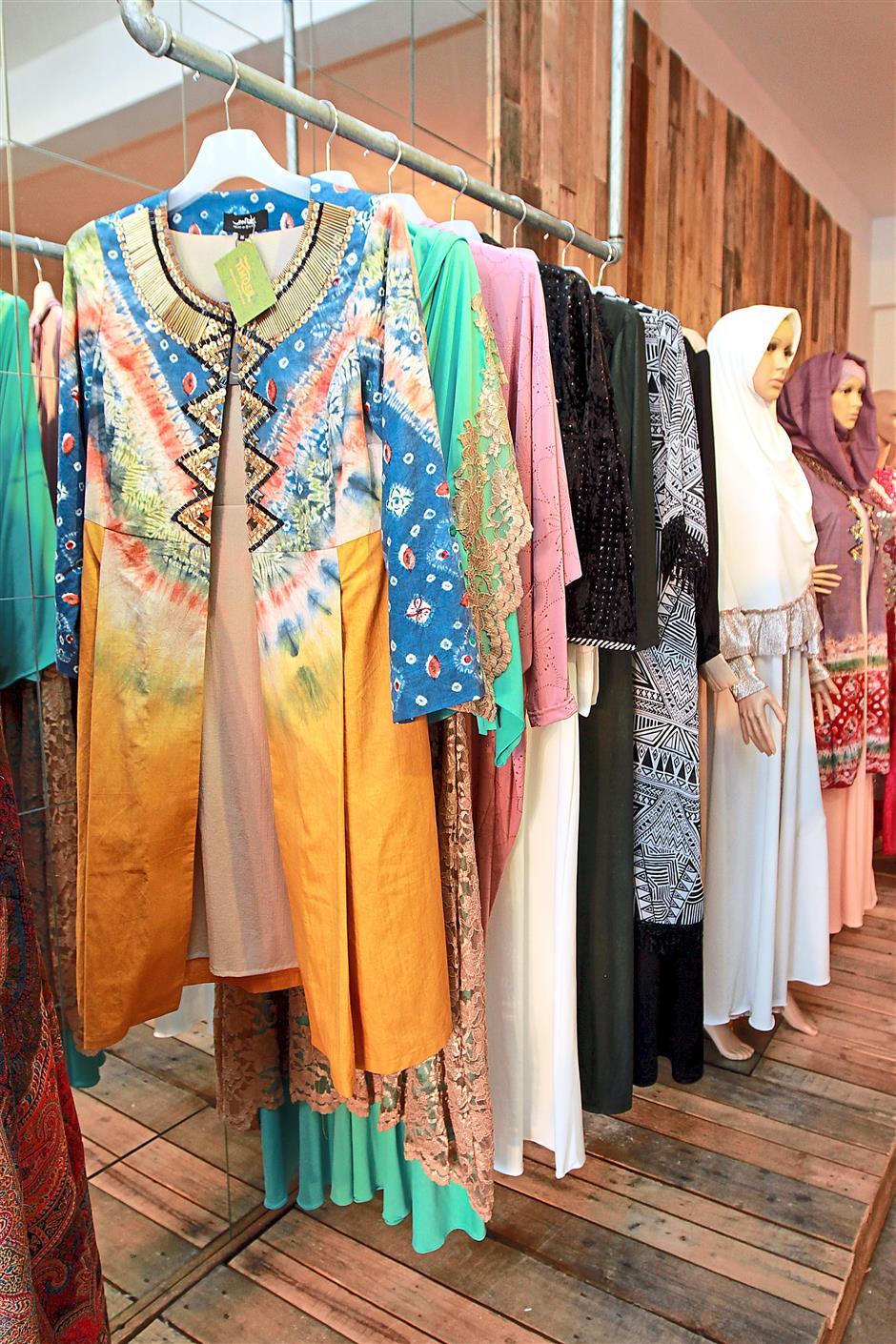 Colour palette: Busana Timoer's range features a vibrant designs.