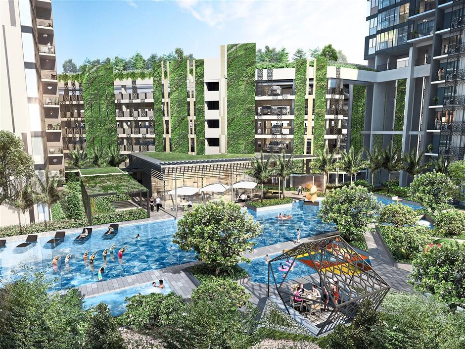 First of its kind club condo facilities introduced at Gem Residences include concierge services and pet pool. The community will also have access to one-year complimentary aqua zumba, yoga classes and common area WiFi.