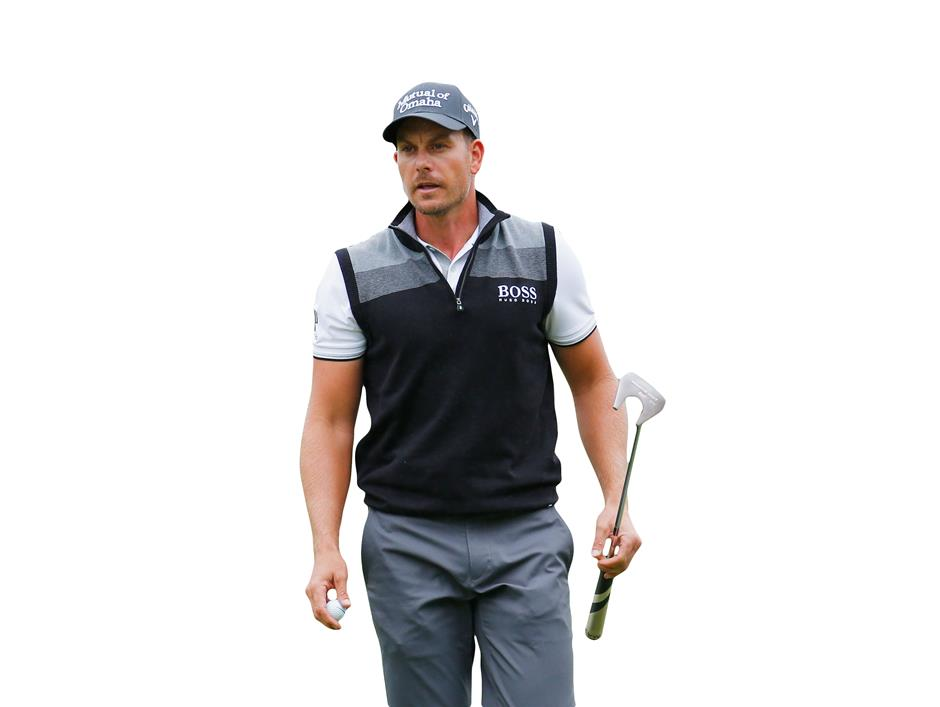 ATLANTA, GA - SEPTEMBER 25: Henrik Stenson of Sweden walks across the second green during the second round of the TOUR Championship By Coca-Cola at East Lake Golf Club on September 25, 2015 in Atlanta, Georgia Kevin C. Cox/Getty Images/AFP== FOR NEWSPAPERS, INTERNET, TELCOS & TELEVISION USE ONLY ==