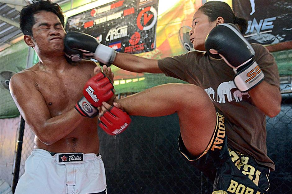 Cambodian fighters to test ancient skills in the MMA cage