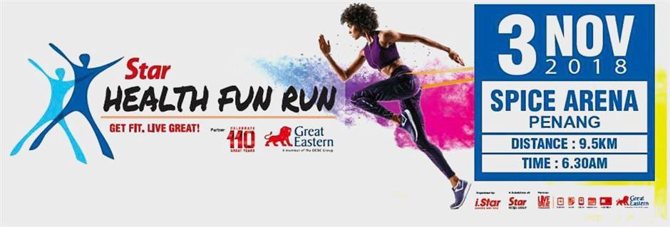 Star Health Fun Run 2018 info box
