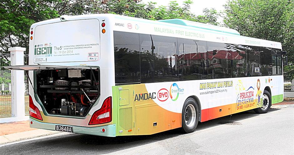 Like normal bus, the soon to be introduced electric bus has 25 seats and one wheelchair bay.