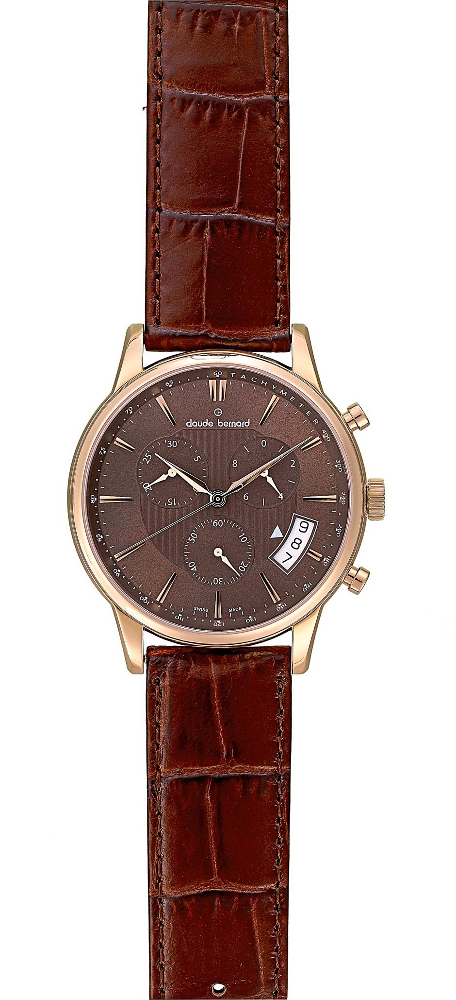 Cocoa is the hottest hue in the watch industry, with top Swiss marques including Claude Bernard, unveiling collections in shades of brown.