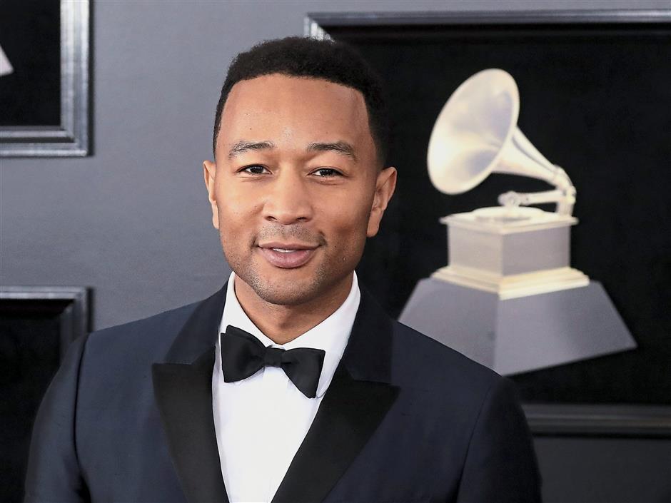 John Legend shows interest in 'Singer' | The Star Online