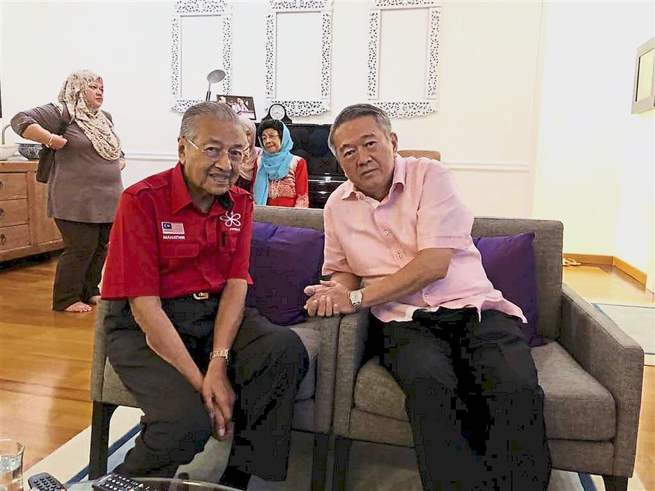True friends: Lee says that his friendship with Dr Mahathir is solid because it is based on shared values and beliefs, not money and power.