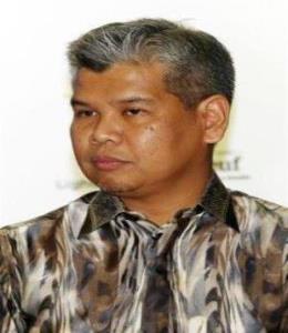 Halal Industry Development Corporation (HDC) vice president Hanisofian Alias during the soft launch of Malaysian International Halal Showcase (MIHAS) 2019. IZZRAFIQ ALIAS / The Star. February 27, 2019.