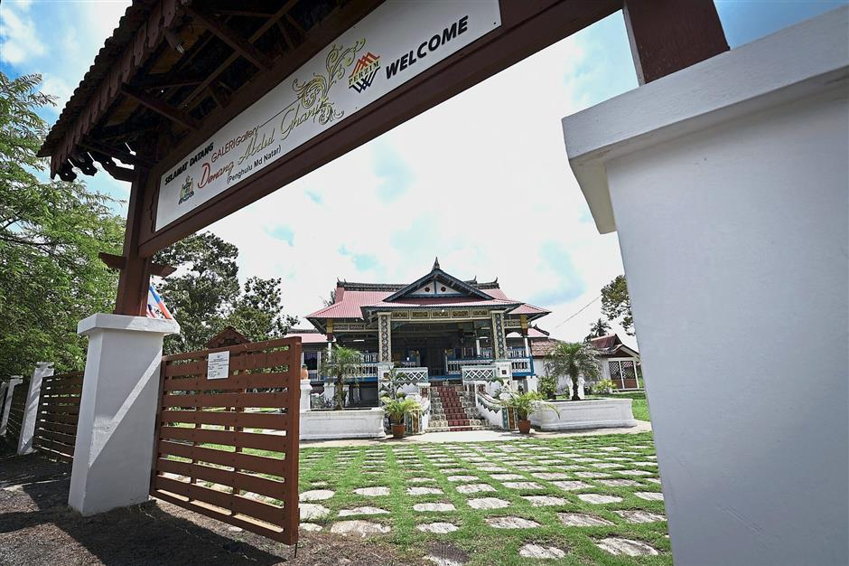 Still going strong: The 187-year-old Demang Abdul Ghani Gallery is located in Merlimau, Jasin. — Bernama