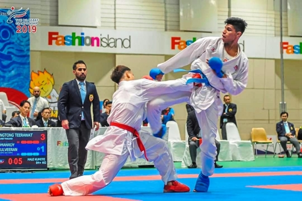Somanroy all pumped up after golden feat in Bangkok | The