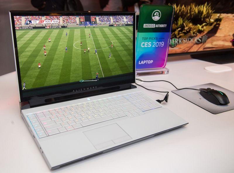 The Dell Area-51m is set to go on sale in the first quarter of the year, and will cost at least US$2,500 (RM10,302) for the cheapest model. u2014 dpa