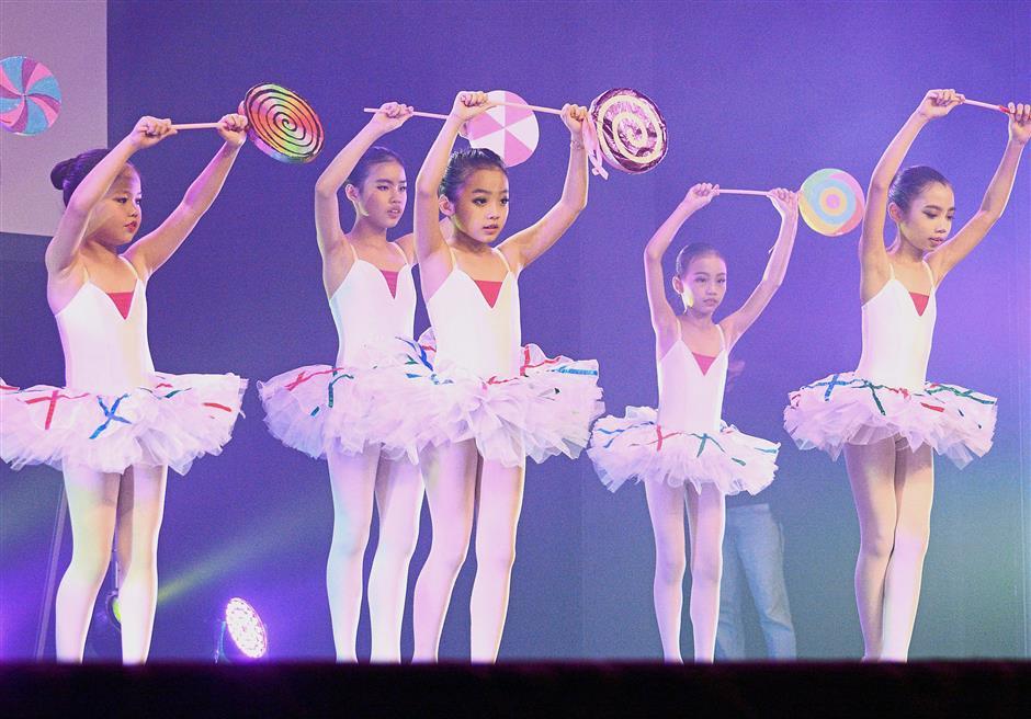 Ballerinas dance their hearts out at Spread Love Through
