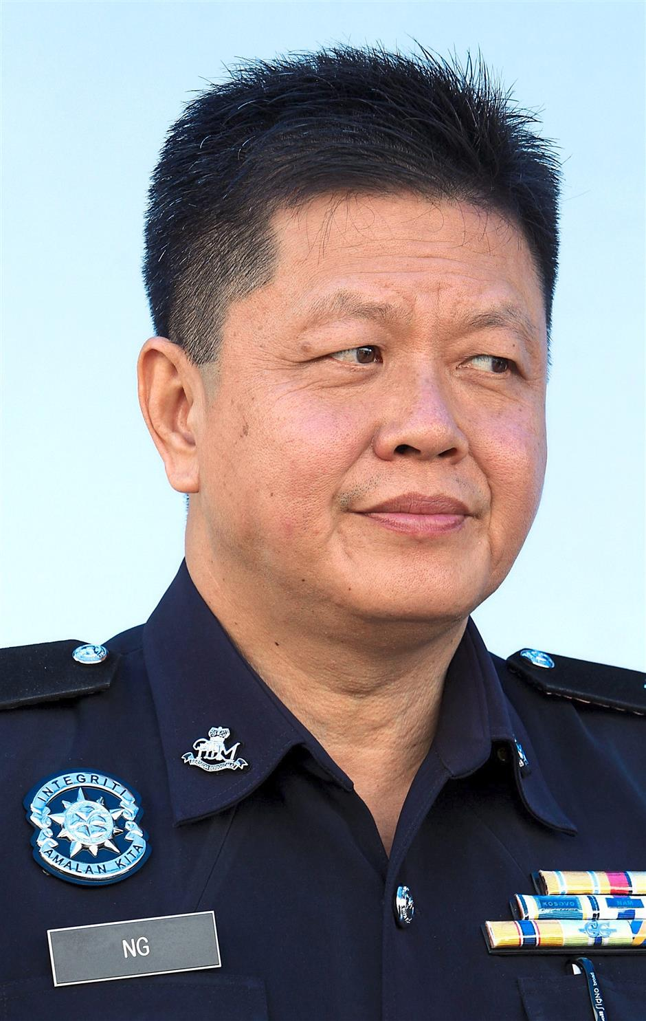 OCPD Kampar Ng Kong Soon