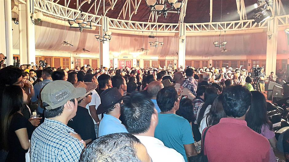fullhouse... the turnout for the Miri Country Music Fest on saturday night was a great success. Stephen pic