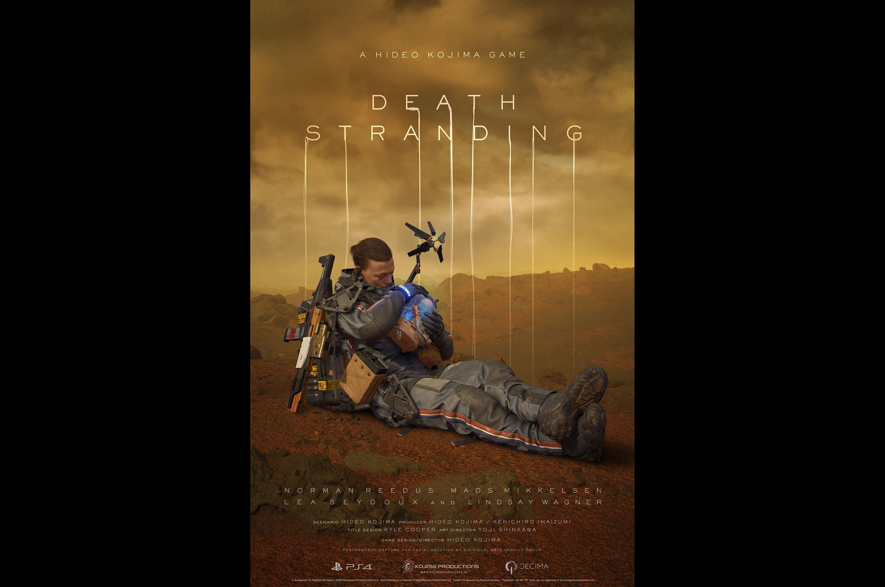 Death Stranding is the latest Kojima project to draw on cinematic and interactive sensibilities. u2014 AFP Relaxnews