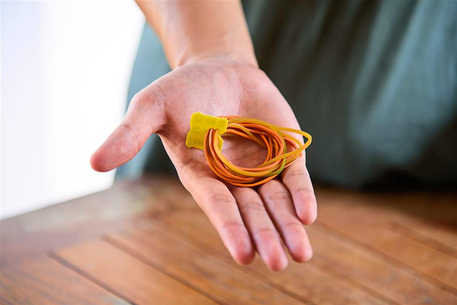 6. Using a bread tag to hold rubber bands together.Photos for Top 10 story: 10 nifty uses for everyday items