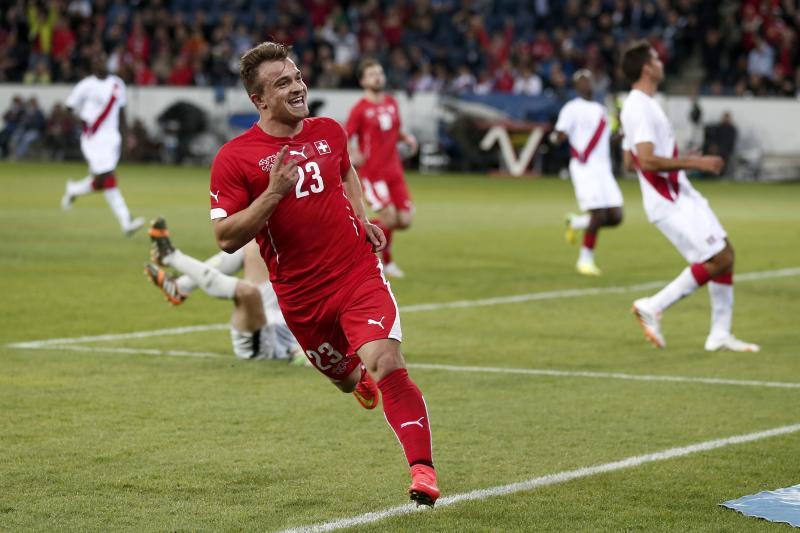 Xherdan Shaqiri will pull the strings in midfield for Switzerland