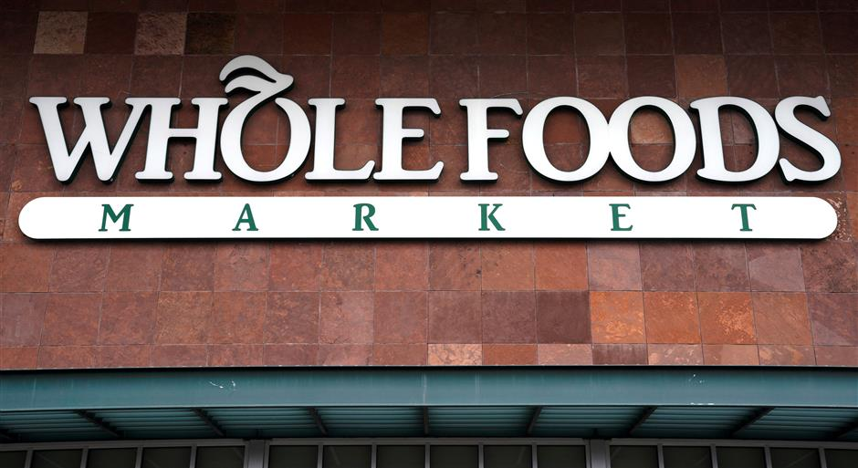 FILE PHOTO: The Whole Foods Market in Superior, Colorado, United States July 26, 2017.  REUTERS/Rick Wilking/File Photo