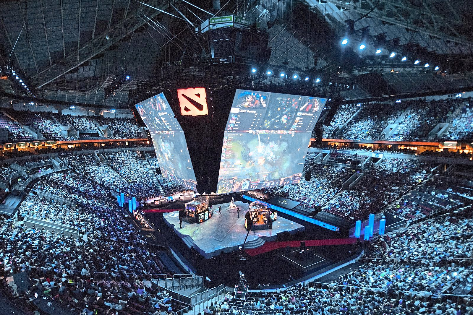 Major eSports tournament offer millions of dollars worth of prize money and are hosted in sell-out arenas - Valve