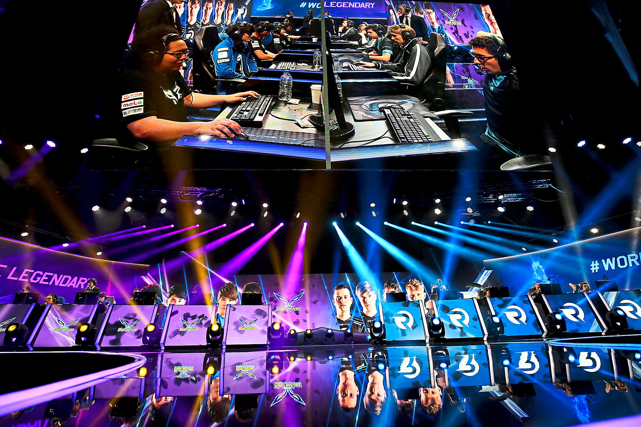 Game on: eSport major tournaments are now a common sight in United States, Europe and China, hosted in large arenas housing thousands of spectators. Photo credit: Riot Games