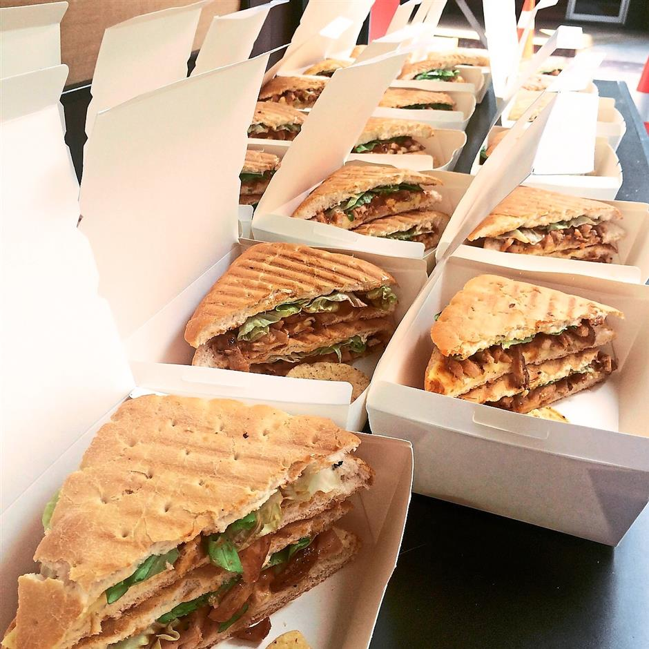 7. WheeloafThe Wheeloaf food trucks signature items are its panini and grilled cheese sandwiches. Photo courtesy of Calvin Yeo, Wheeloaf. For MOB Top 10 story on 10 trending food trucks.