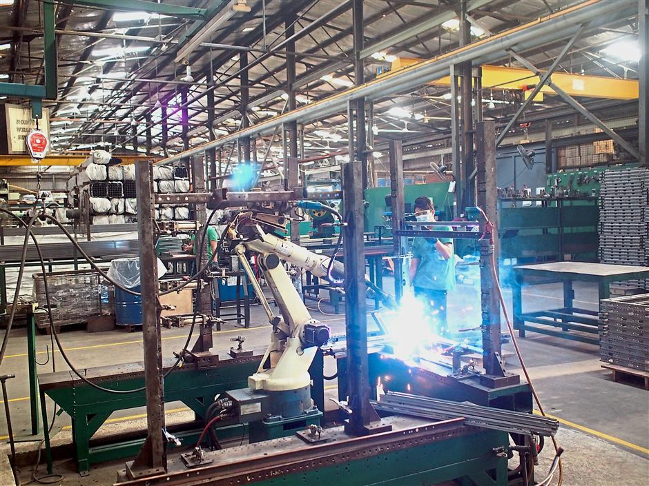 Robotics help: Manufacturers need to automate to reduce their reliance on manual labour.
