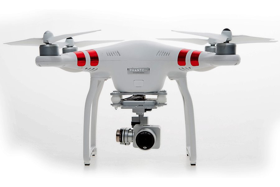 Flying camera: the DJI Phantom 3 Standard produces some excellent video