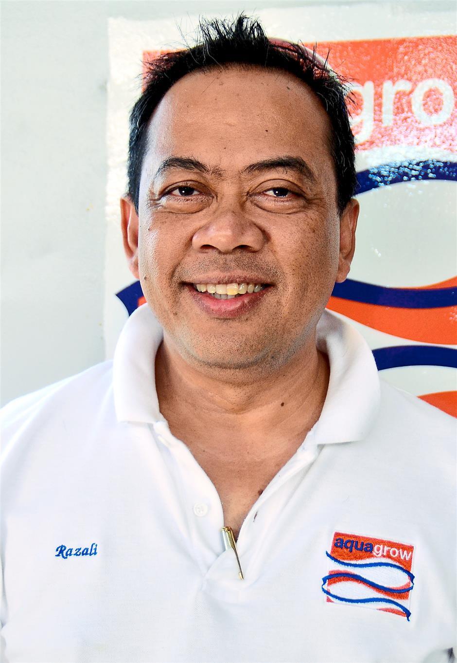 LANGKAWI, 19 Dis -- Ketua Pegawai Eksekutif Aquagrow Corporation Sdn Bhd, Mohamed Razali Mohamed.--fotoBERNAMA (2014) HAKCIPTA TERPELIHARA.