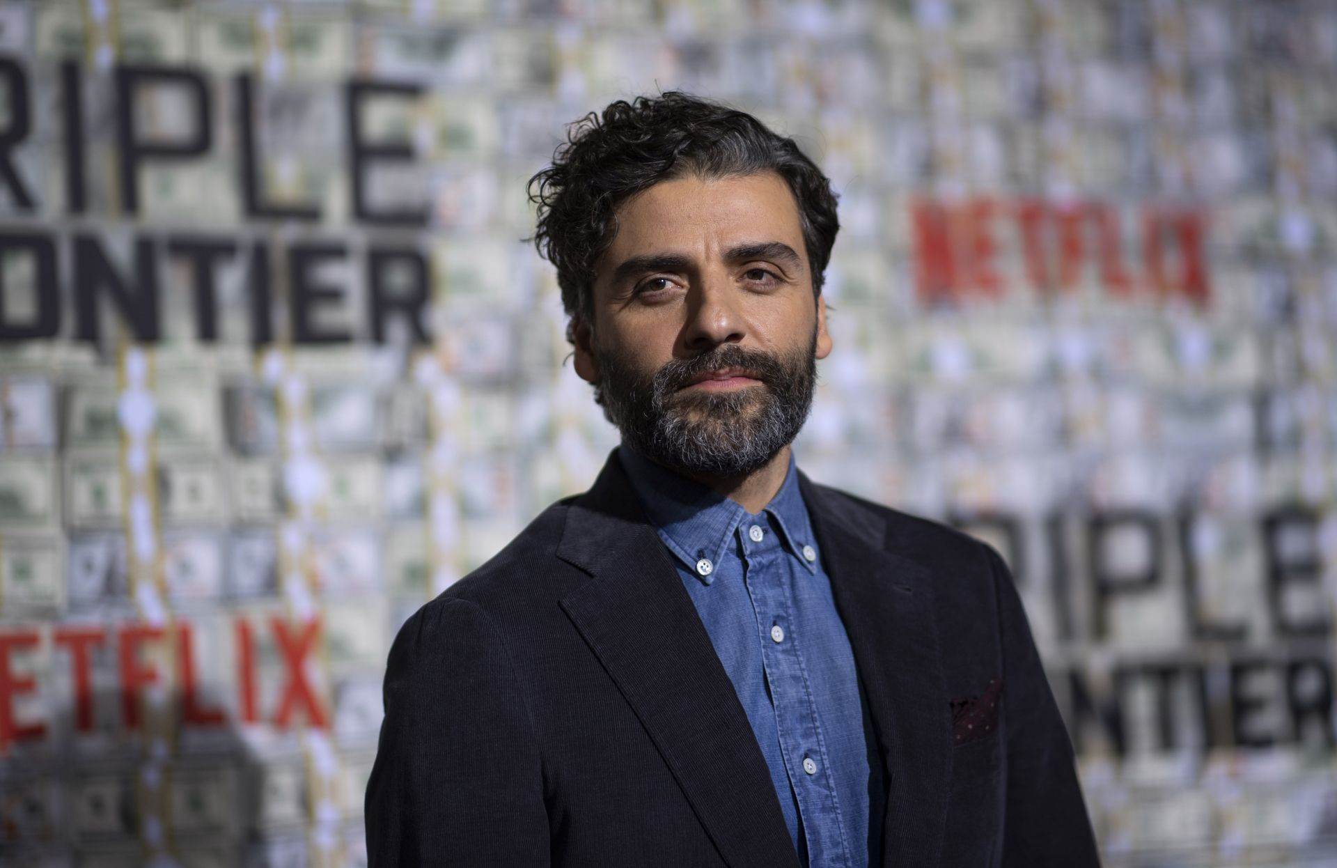Actor Oscar Isaac at the world premiere of Triple Frontier on March 3 in New York City. u2014 AFP Relaxnews