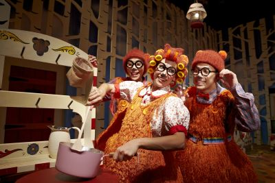 Just right: Singapore Repertory Theatreu2019s The Little Company presents Goldilocks And The Three Bears.