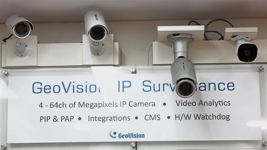 Extra eyes: A visible camera surveillance system go a long way in preventing crime.