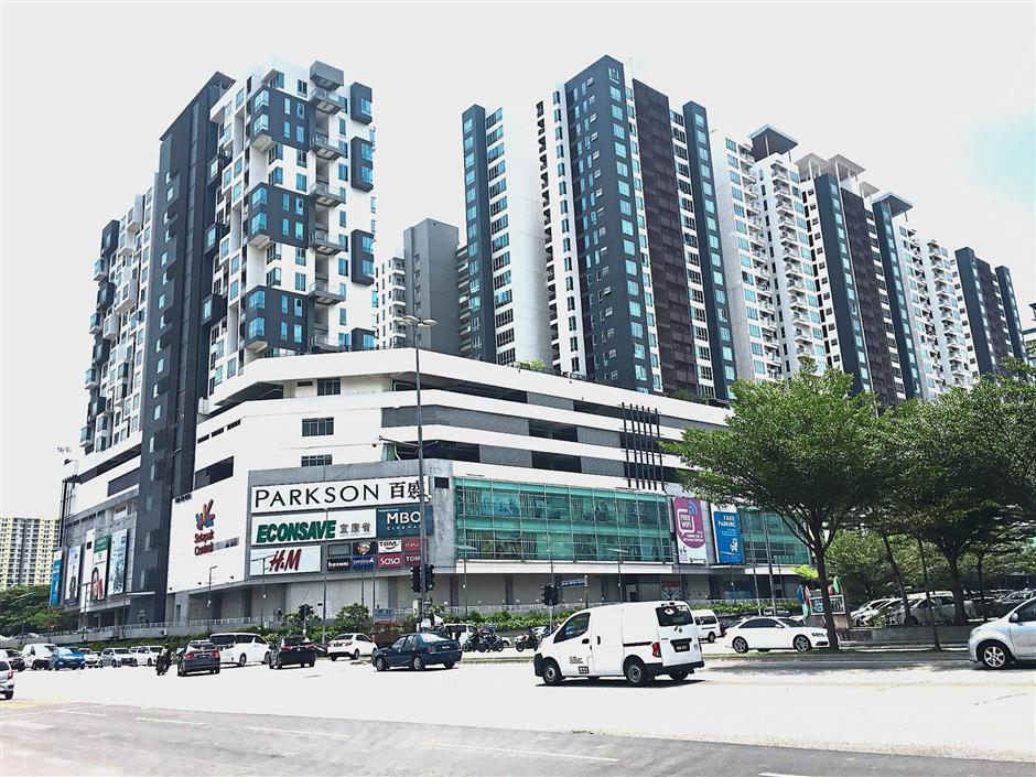 Creating value: The Setapak Central Mall has net lettable area of 494,000 sq ft. It has a ready catchment because hundreds of residential units sit on the retail podium.