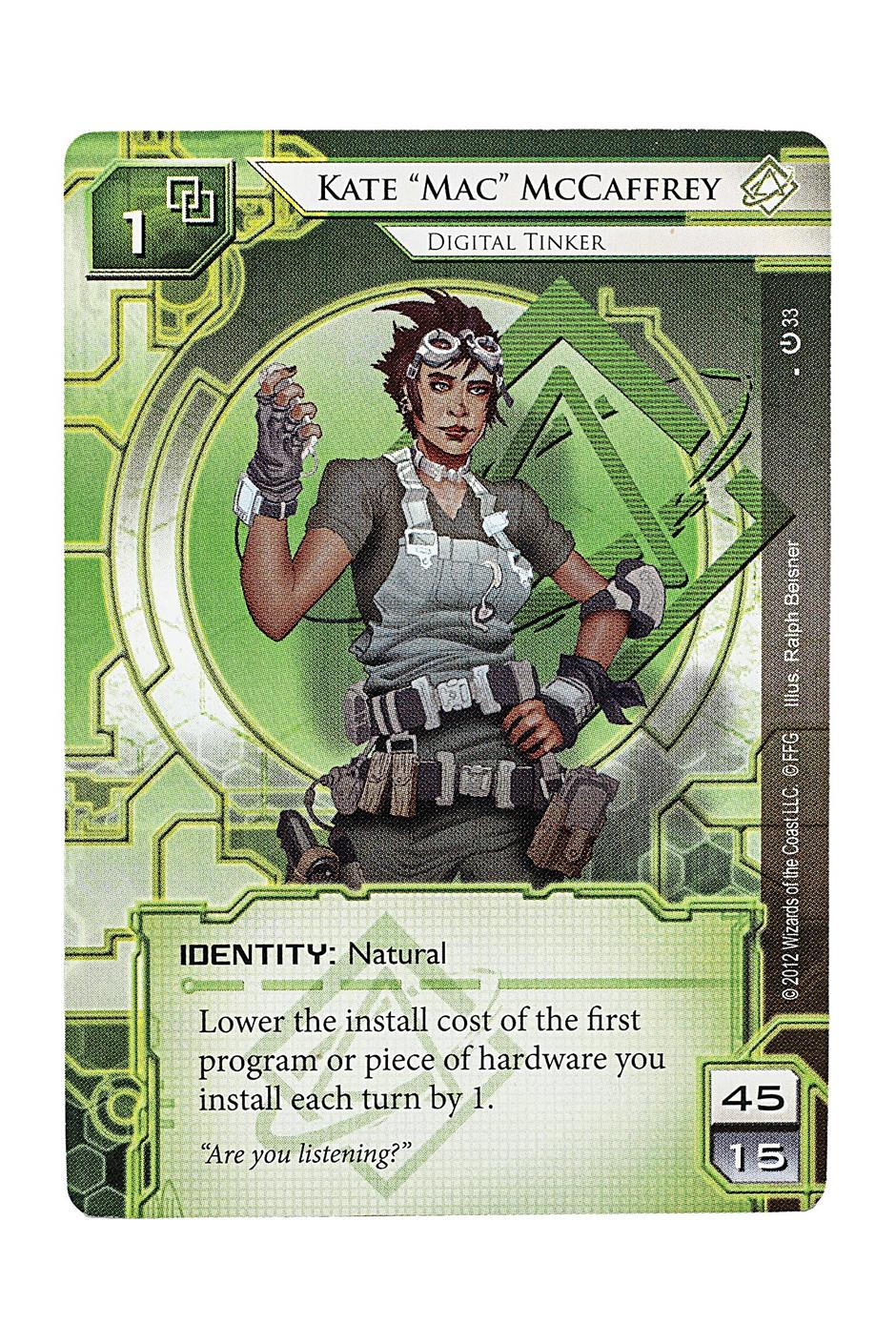 Android: Netrunner Living Card Game' is richly detailed