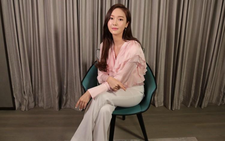 K-pop star-turned-entrepreneur Jessica Jung: it's natural to feel